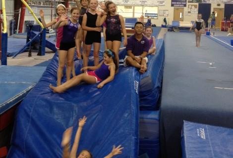 2013 Summer Gymnastics Camp Pictures