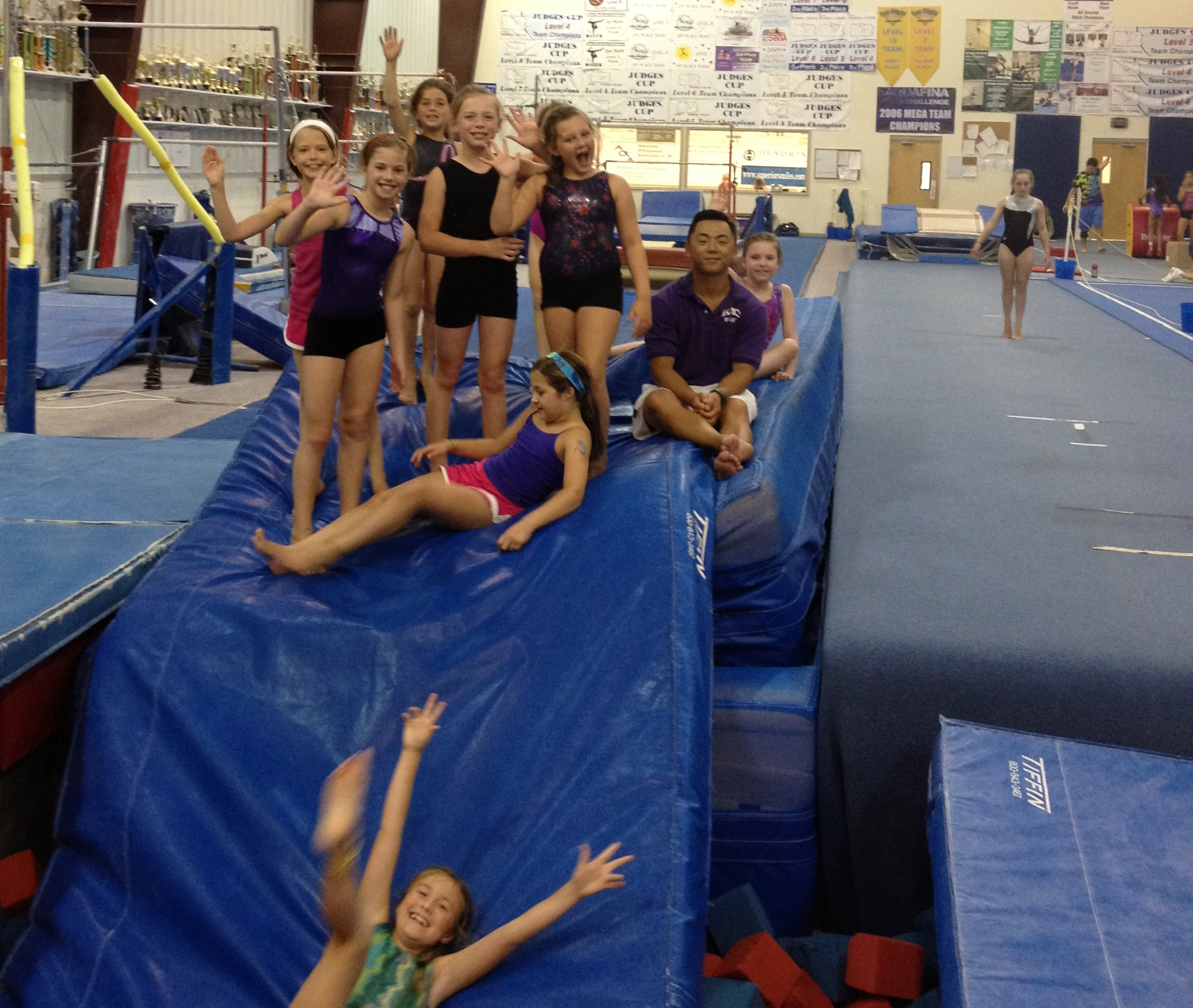 2013 Summer Gymnastics Camp Pictures